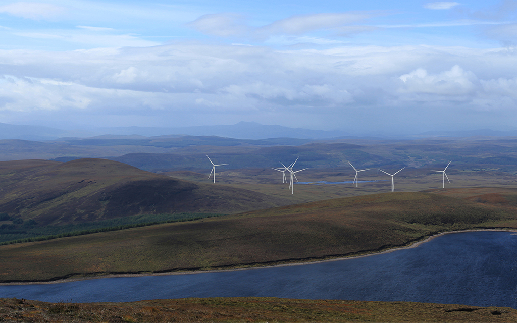 Aberdeenshire windfarm application submitted