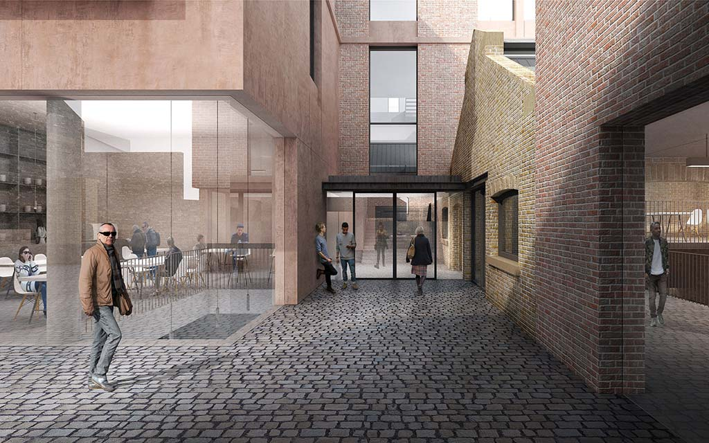 Planning application for office development in Canongate, Edinburgh submitted