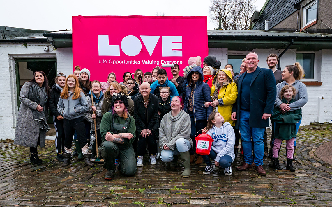 Volunteers needed to bring LOVE back to Gorgie Farm