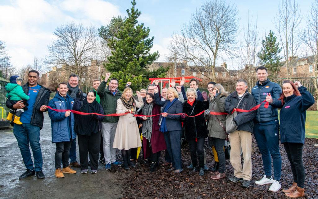 Celebrations as LOVE Gorgie Farm opens its doors